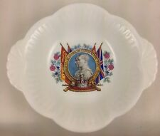 KING GEORGE VI CORONATION CHINA DISH c1937 ROYAL DOULTON ROYALTY
