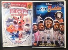 Lot Of 2 DVDs -Rudolph the Red-Nosed Reindeer w/Destiny's Child & Space Buddies