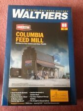 HO Scale Walthers Cornerstone 933-3090 Columbia Feed Mill Building Kit