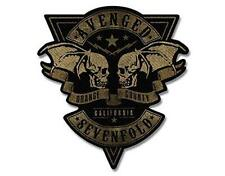 OFFICIAL LICENSED - AVENGED SEVENFOLD -  ORANGE COUNTY PATCH METAL ROCK