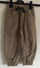 Brand New Boys Debenhams Light Brown Trousers. Age 12-18 Months