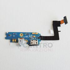 FLAT FLEX FLESSIBILE DOCK RICARICA USB + MICROFONO PER SAMSUNG GALAXY i9100 S2