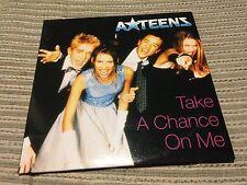 A-TEENS A TEENS TAKE A CHANCE ON ME CD SINGLE 1 TRACK CARD SLV PROMO SPAIN ABBA