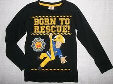 FIREMAN SAM:RED//BLUE//NAVY,LONG SLEEVE TOP,3//4,5//6,7//8,9//10yr,NEW WITH TAGS