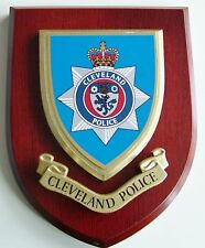 CLEVELAND POLICE CLASSIC HAND MADE REGIMENTAL STYLE MESS PLAQUE