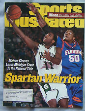 2000 Sports Illustrated Michigan State National Champions Mateen Cleaves