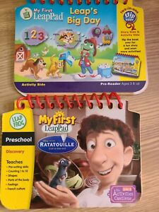 Leapfrog My First LeapPad Leap's Big Day/RATATOUILLE (BOOKS ONLY)