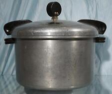 Nice Magic Seal 16 Quart No 7 Polished Cast Aluminum Pressure Cooker