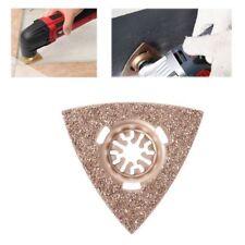 80mm Flush Cut Triangular Oscillating Carbide Rasp For Fein Bosch Multi Tool Set