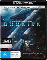 Dunkirk : NEW (4K Ultra HD - UHD) Blu-Ray