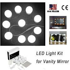 LED Mirror Lights Kit For Makeup Dressing Table Vanity Mirror With Dimmer