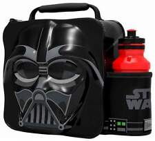 Official Star Wars Thermal 3D Darth Vader Lunch Bag Box & Drink Bottle Set 59756