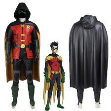 Batman Justice League vs Teen Titans Robin Cosplay Costume