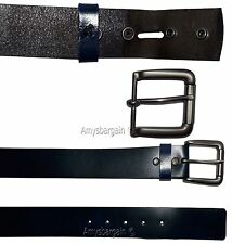 Men's Leather Belt (M) leather waist belt, Leather waist band Leather strap BNWT