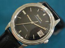 Nice Vintage 1967 BULOVA Ambassador S.S. 17J Micro Rotor Automatic Men's Watch