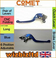 Manetas de freno azules para motos Suzuki