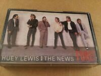 Huey Lewis and the News : Fore! : Vintage Cassette Tape Album from 1986