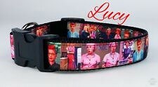 """Lucy dog collar handmade $12 all sizes adjustable buckle collar 1""""wide or leash"""