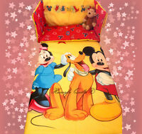 Disney Minnie Mouse Mickey Mouse YELLOW BEDDING SET - all sizes available
