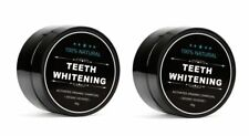 *Lot of 2* 100% Natural Activated Organic Charcoal Teeth Whitening Powder, 30g