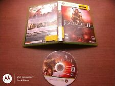 Microsoft Xbox 360 Disc Case No Manual Test Fable II 2 Ships Fast