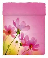 Copriletto Trapuntato Matrimoniale Pink Spring Trapuntino Fiori Imagine Bassetti