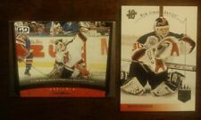 MARTIN BRODEUR LOT OF 2 UD New Jersey Devils GAME DATED /1994 SP18 COMB SHIP