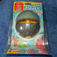 "RARE 2002 ""SPLASH PASS"" Water Catch Ball Toy From WHAM-O - Fun Summer Play! NEW!"