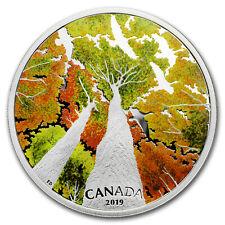 2019 Canada 2 oz Silver $30 Canadian Canopy: The Canada Goose - SKU#177989