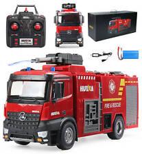 Huina 1562 Ferngesteuerte Feuerwehrleute LKW Drehleiter 1:14 RC 22 Kanäle - NEU
