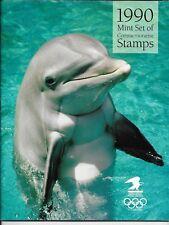 USA stamps of 1990 & original commemorative booklet