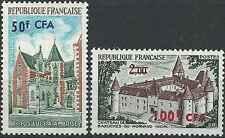 Timbres Chateaux Réunion 416/7 ** lot 14599