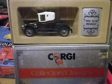 CORGI COLLECTORS CLASSICS: C862 RENAULT 12/16 1910 COMME NEUF EN BOITE