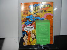 RARE MATTEL DC COMICS SUPERMAN CARD GAME SET 1971 JACK KIRBY ARTWORK IN PACKAGE