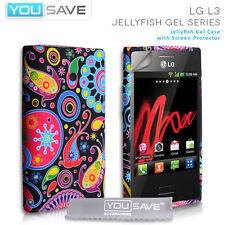 Accessoires POUR LE LG OPTIMUS L3 E400 Silicone Méduse Gel téléphone Housse