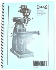 EX-CELL-O RAM TURRET Vertical MILLING MACHINE STYLE 602 Operation Service MANUAL