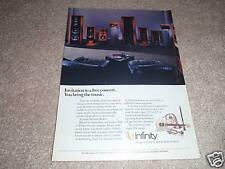 Infinity Kappa 9,6,1 Pagina Annuncio da 1988, Bellissimo