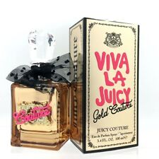 Viva La Juicy Gold Couture By Juicy Couture EDP 3.4 oz *New Damaged Box*