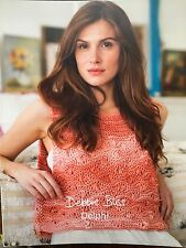Debbie Bliss - Delphi - Pattern Book - Department Store Return
