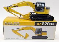 Tomica 1/43 Scale Diecast - PC228US Galeo Komatsu PC228 US Excavator