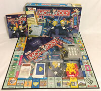 The Simpsons Monopoly Board Game Parker 100% Complete Working Electronic Banking