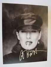 Anjelica Huston Signed Autographed 11x14 Photo The Addams Family COA VD