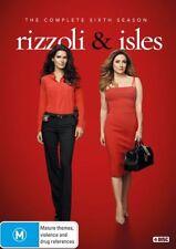 Rizzoli & Isles : Season 6 (DVD, 2017, 4-Disc Set)