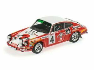 1/43 Minichamps Porsche 911S Seb N°4 Larrousse/Perramond Monte Carlo 1972 Neuf