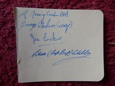 Boxeo autógrafos-Erskine-Wells-Whelan - Murray