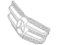 Genuine Mercedes-Benz Grille Assembly 204-880-08-83-9776