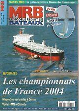 MODELE REDUIT DE BATEAU N°488 PLAN : LE DEFI AC/10/L'AURORE/PARIS PORT DE PECHE