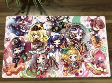 Yu-Gi-Oh TCG Playmat Doujin Girls Madolche DIY Trading Card Game Mousemat Pad
