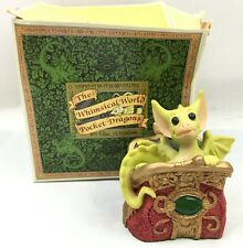 """""""Percy"""" Whimsical World of Pocket Dragons Real Musgrave 1992"""