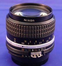 Nikon NIKKOR 35mm f/2 Ai Ai-S Lens, excellent condition